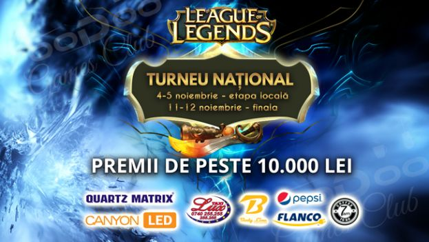 TURNEU NATIONAL - LEAGUE OF LEGENDS